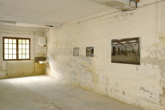 Der Bau, vue de l'exposition.