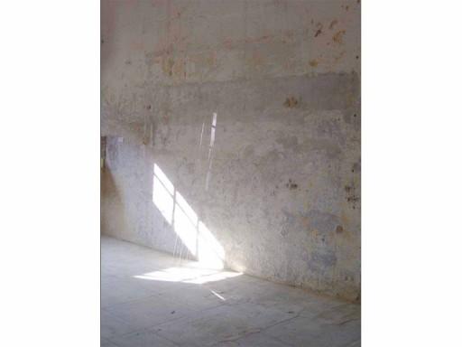 Guillaume Leblon.FRAME OF A WINDOW, 2008. Glass. 192 cm x 0,3 cm
