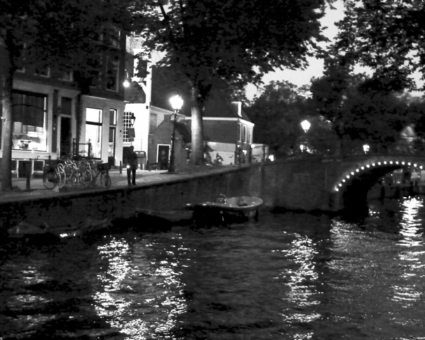 Vittorio Santoro. Searching For... (One Day and Night in Amsterdam) 2012. Eighteen black and white photographs