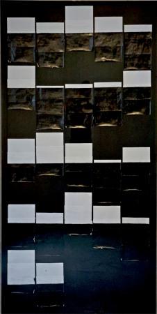Vittorio Santoro. Heavy Airmail Paper (You Never Turned Around...) 2013. Courtoisie de l'artiste et la Galerie Jérôme Poggi, Paris.