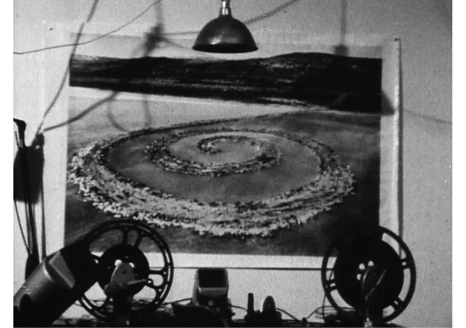 "Robert Smithson. ""Spiral Jetty,"" 1970. Estate of Robert Smithson, Courtesy James Cohan Gallery, New York / Shanghai and Electronic Arts Intermix (EAI), New York."