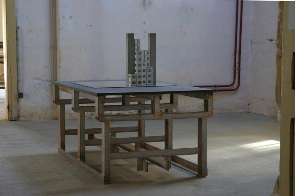 Bertrand Lamarche. Le SIRH de Ludres, 2013. Courtesy Galerie Jérôme Poggi, Paris.