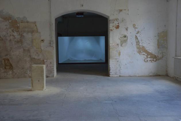 Perrine Lacroix.  vue de l'exposition.