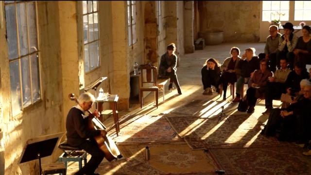 Rohan de Sarram. Sonate pour violoncelle solo de Zoltan Kodaly.