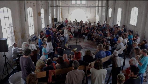 phoharmonie avec L'Ensemble Offrandes, la Fonderie, et l'Europa Jazz Festival, 21 juin 2015