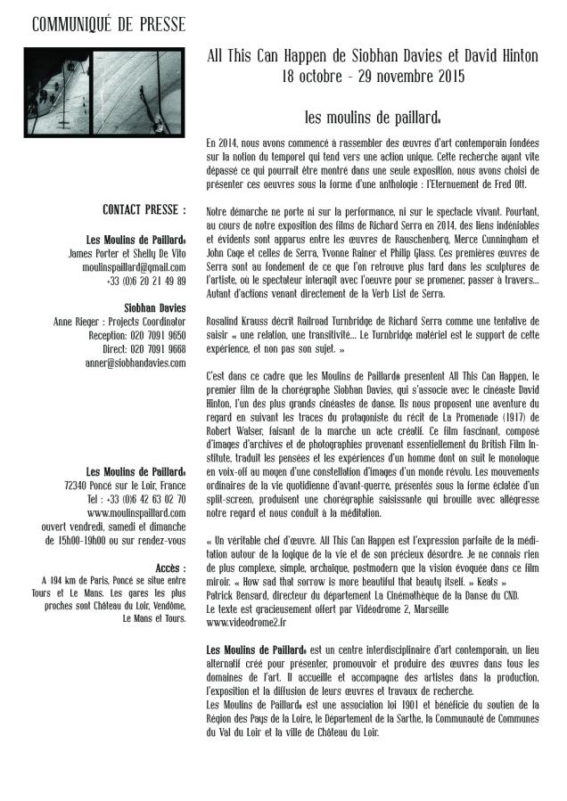 web2015 fred ott's sneeze communiqué de presse