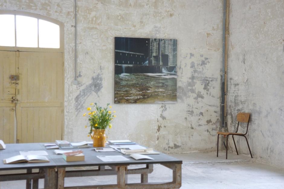 Claire Adelfang, Mur d'eau, 2011. Courtesy Galerie Thaddaeus Ropac, Paris et Salzbourg. Photo © JGP