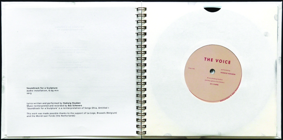 Hedwig Houben, Soundtrack for a Sculpture, 2013.