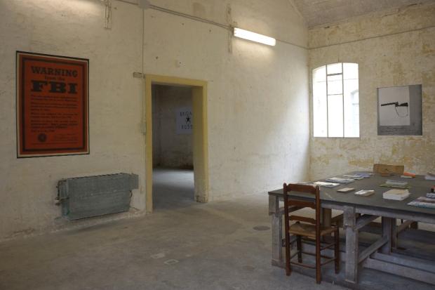 salle de lecture schizo-culture+carabine.