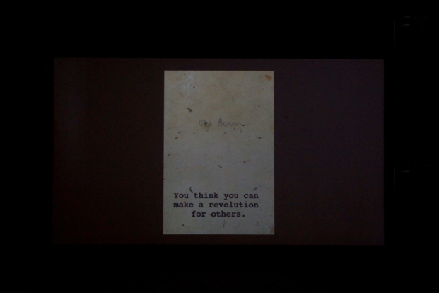 Otolith Group, Communists Llike Us, 2006. Film. Courtesy LUX.